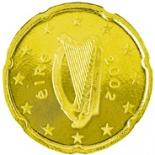 20 cents (other side, country Ireland) 0.2